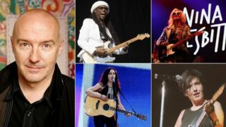 Midge Ure, Nile Rodgers, Nina Nesbitt, Sharleen Spiteri and Amy Macdonald
