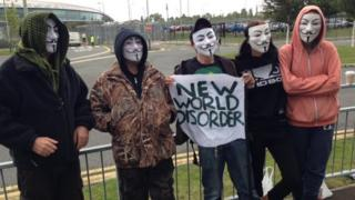 GCHQ protestors