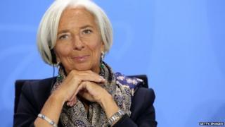 File photo: Christine Lagarde, 13 Mary 2014