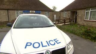 Police at Coronation Close