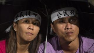 Occupy Central protesters in Hong Kong. Photo: 31 August 2014