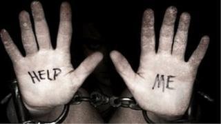 Anti-trafficking poster