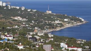 Crimea coastline - archive pic
