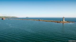 Plymouth breakwater. Pic: Thinkstock