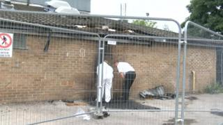 Ashbourne leisure centre fire