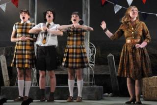 Mid Wales Opera performs Albert Herring by Benjamin Britten