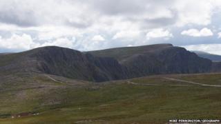 Coire an t-Sneachda in the Cairngorms