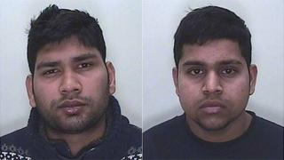 Filbert Antao and Royston Gonsalves, of Swindon