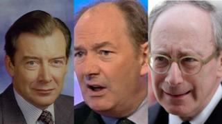 Lord Lang, Sir Malcolm Rifkind and Lord Forsyth