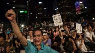 Pro-democracy activists in Hong Kong are angry over Beijing's ruling on electoral reforms