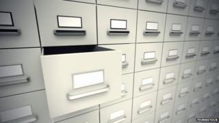 Files stock