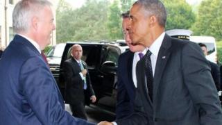 Carwyn and Barack