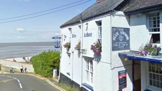 Blue Anchor, Minehead, Somerset