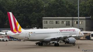 A Germanwings plane in Berlin - file pic