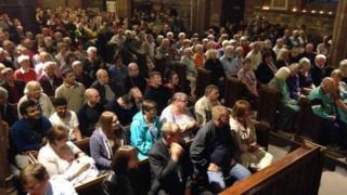 Rotherham Minster congregation