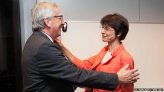 J-C Juncker - tweeted official pic