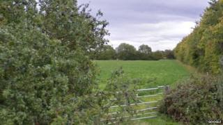 Field in Sibford Road, Hook Norton