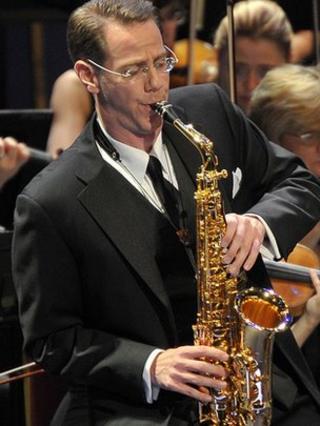 Saxophonist Timothy McAllister