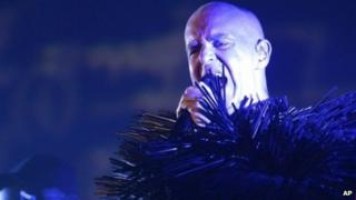 Neil Tennant from the Pet Shop Boys
