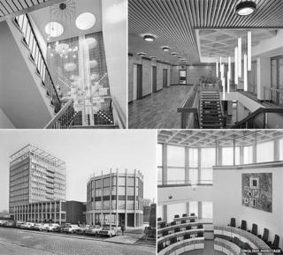 Carlisle Civic Centre March 1964