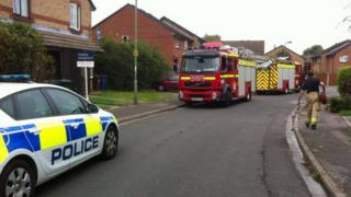 Fire service in Kidlington