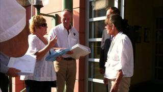 Green Acres Hotel plans and petition presented