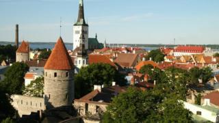 Tallinn view
