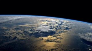 File photo: A view of Earth taken by Nasa astronaut Gregory Reid Wiseman of the US from the International Space Station (ISS) in space, 2 September 2014