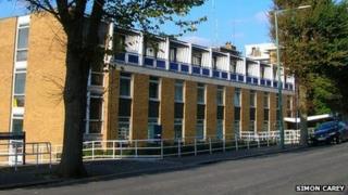 Hove police station