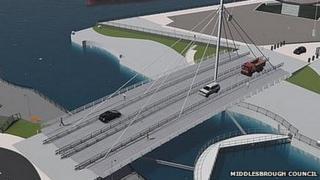 Proposed Middlehaven bridge