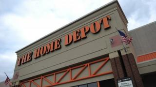 Home Depot store in Maryland