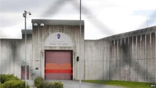 Skien maximum security jail in Norway, on 24 July 2012