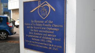 Sacre-Coeur orphanage plaque