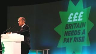 Mark Carney addresses the TUC conference