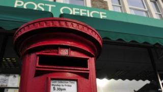 A Post Office and pillar box