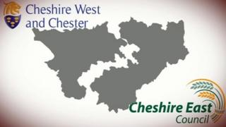 Cheshire West and Chester Council and Cheshire East Council as unitary authorities