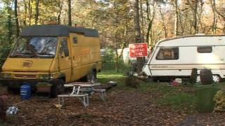 Haldon Hill travellers site