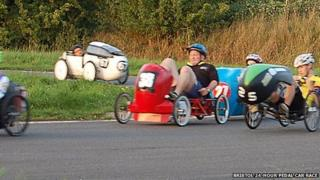 Bristol 24-hour Pedal Car Race
