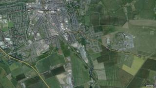 Map of proposed Spitalgate Heath area