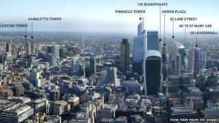 Annotated skyline
