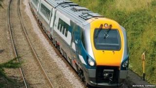 An express train