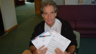 Npower told Terry Small they have now contacted the court