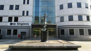 One Kingsway, home of the British Council offices in Cardiff