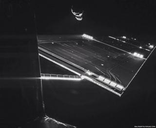 Rosetta in space