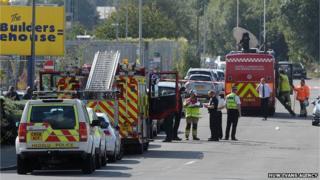 Emergency services in Llanishen