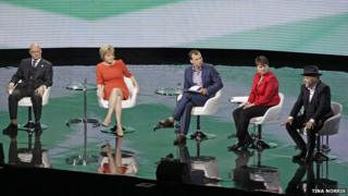 Panel at SSE Hydro