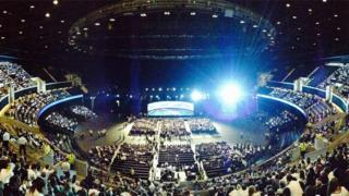 Over 7,000 students gather for a debate on the referendum at Glasgow's SSE Hydro