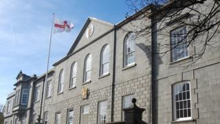 Guernsey States Chamber and Royal Court building