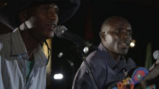 Rwandan band The Good Ones