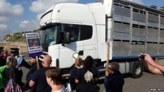 Ramsgate protest - 12 Sept 2014